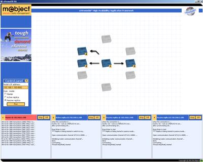 McoObject eXtremeDB embedded database web server